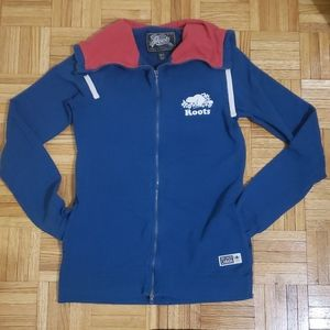 Roots Sweater Full Zipper with Hood